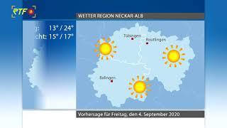 RTF.1-Wetter 03.09.2020