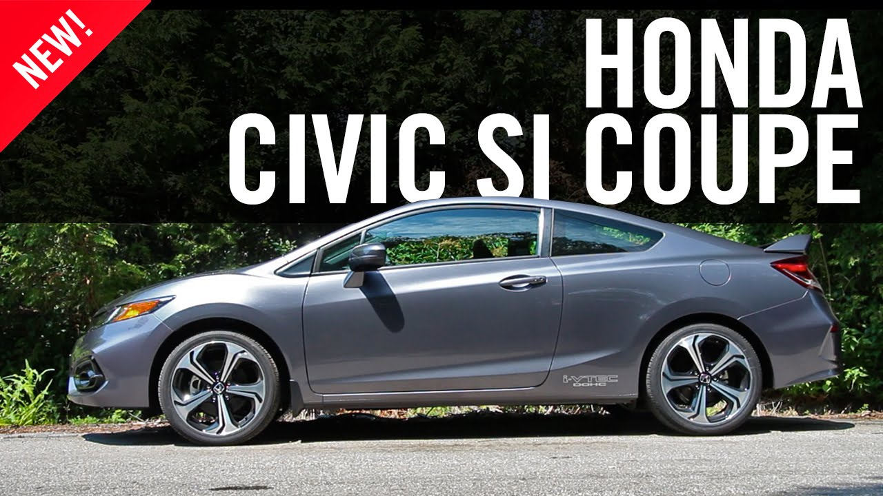 2015 honda civic si coupe review youtube. Black Bedroom Furniture Sets. Home Design Ideas