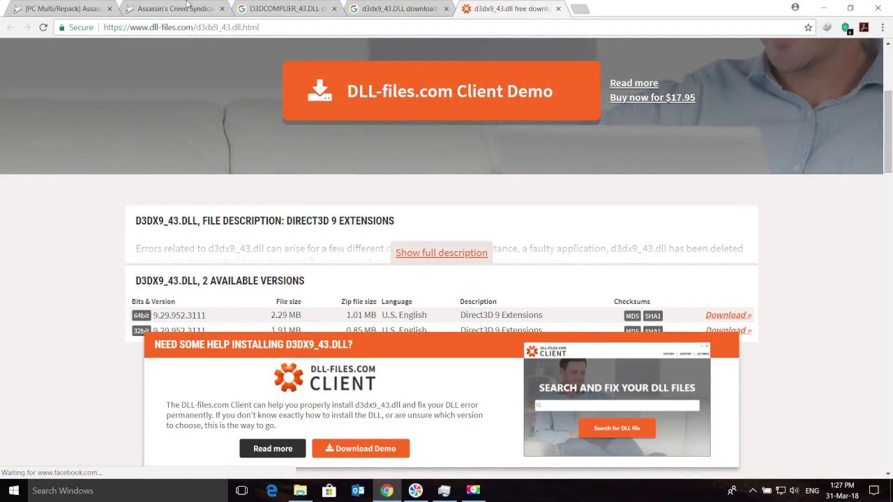 direct3d 9 extensions free download