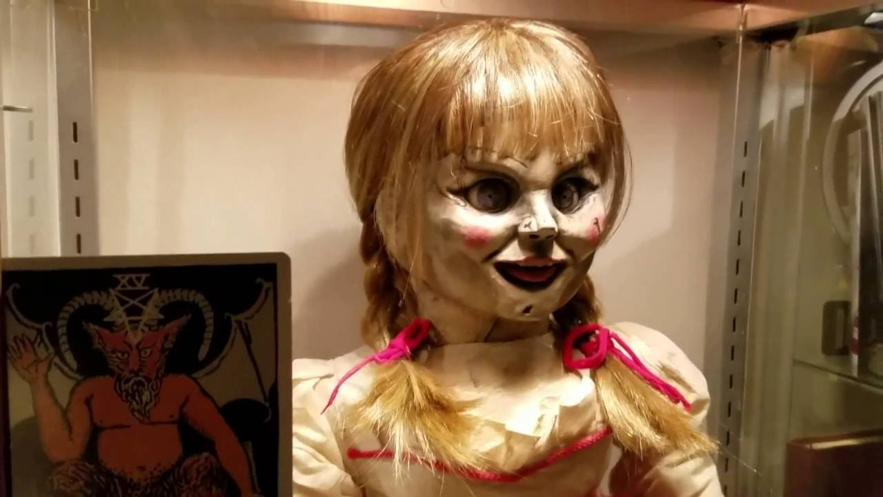 The Conjuring Annabelle Doll Display Case Prop Replica