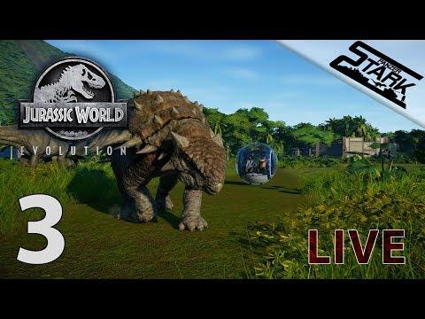 Jurassic World Evolution - 3.Rész (Keresünk T-Rex Genomot) - Stark LIVE