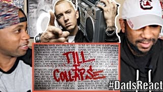 DADS REACT | EMINEM FT NATE DOGG x TILL I COLLAPSE | SUPER HOT FIRE !! | BREAKDOWN