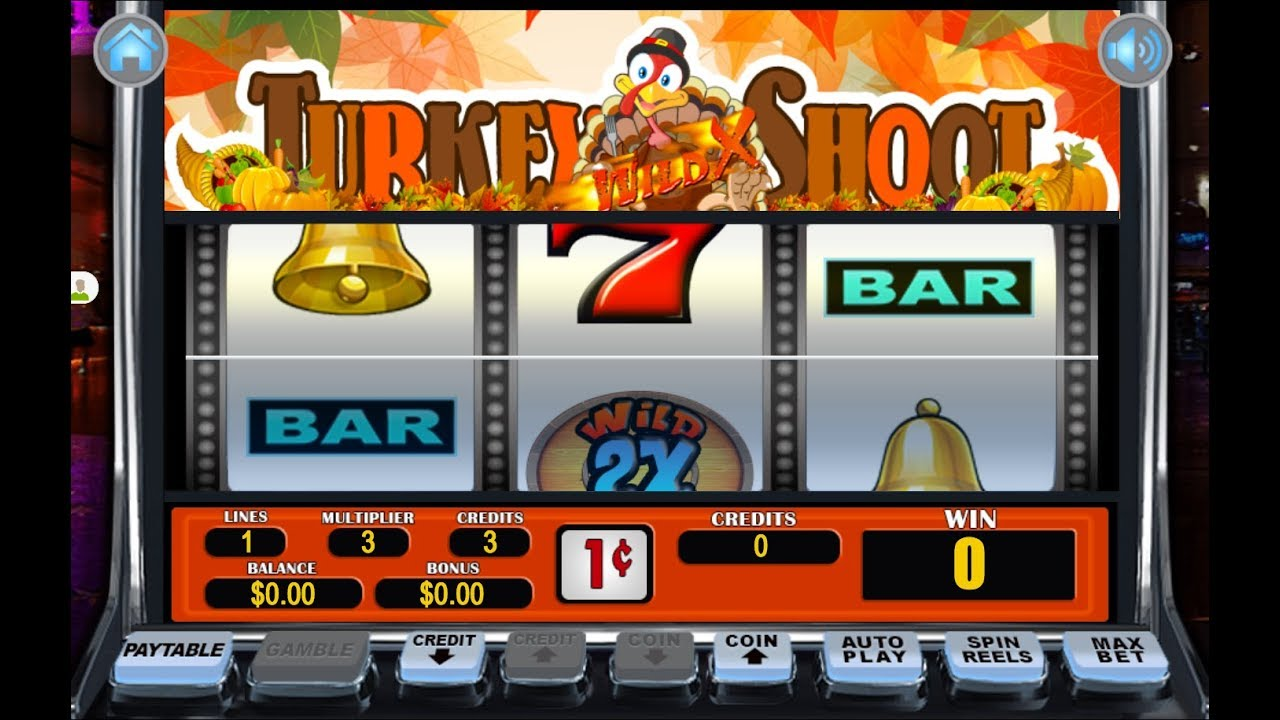Traditional Casino Play in Turkey Shoot Slots