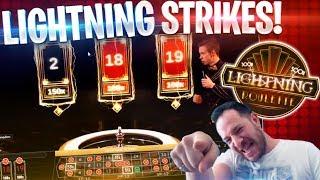 WHEN LIGHTNING STRIKES!! Online Roulette!