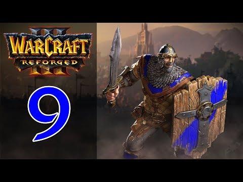 Прохождение Warcraft 3: Reforged #9 - Глава 4: Культ Проклятых [Альянс - Падение Лордерона]