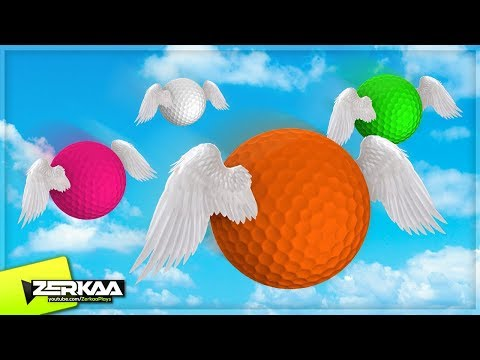 FLYING GOLF BALLS! (Golf with Your Friends)