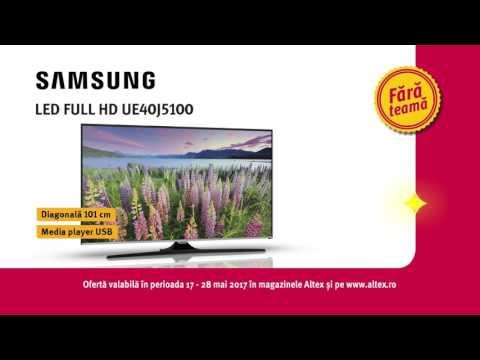 Reclamă ALTEX - TV Samsung 101 cm - mai 2017