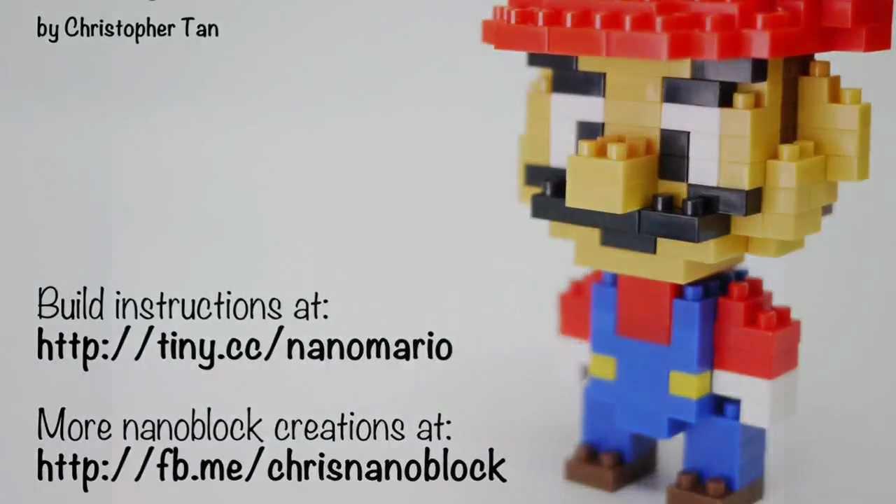 how to build minion nanoblock