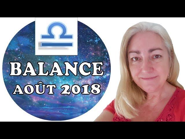BALANCE Août 2018 Tarot Astrologique