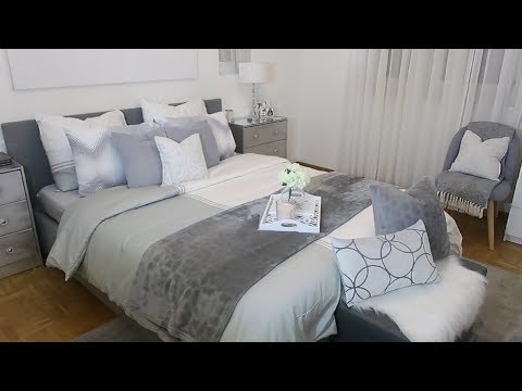 comment bien faire son lit how to make your bed look glam expensive youtube. Black Bedroom Furniture Sets. Home Design Ideas