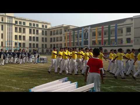 St. Xavier's Collegiate School Kolkata march past 2016(1)
