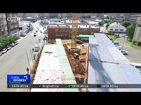 Johannesburg housing estate made of shipping containers
