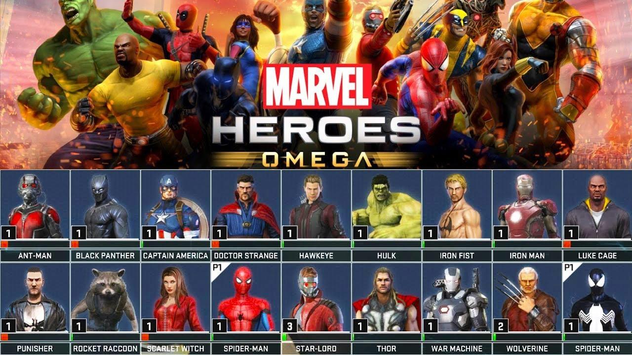 Personajes De Marvel: TODOS Los SUPERHÉROES Y TRAJES !!