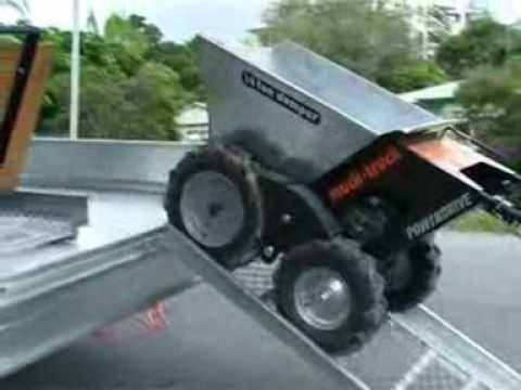 Muck-Truck  Rampe Ramp Movie Film Clip Belle BMD www.mucktruck-deutschland.com