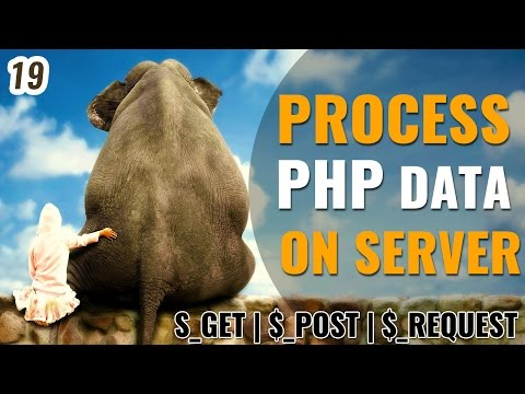 Process PHP data on server using $_GET, $_POST and $_REQUEST in Hindi | Learn php in Hindi