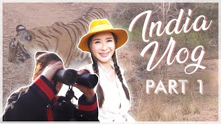 MY FIRST TIME IN INDIA (WE VISITED THE SAFARI) PART 1 | JAMIE CHUA