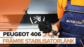 Hur byter man Stabstag PEUGEOT 406 (8B) - online gratis video