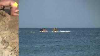 Пляжи в Евпатории - часть 2(Евпаторийский пляж «Магнат» в конце улицы Киевской., 2011-07-11T08:35:06.000Z)