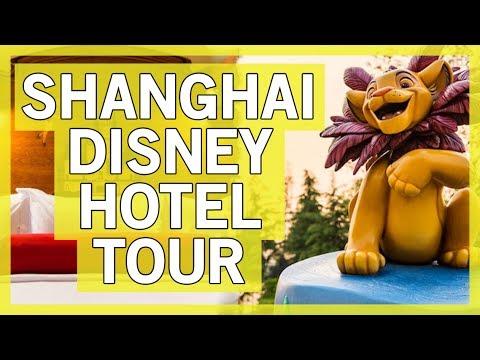 Shanghai Disneyland Hotel TOUR!