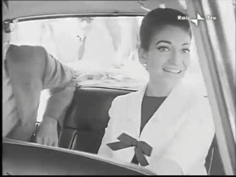 Maria Callas, Arrival in Rome
