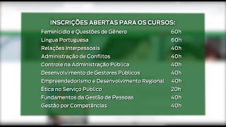Inscrições para cursos EAD da Escola do Legislativo encerram dia 16 de março