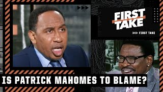 Stephen A. \u0026 Michael Irvin get heated talking about Patrick Mahomes | First Take