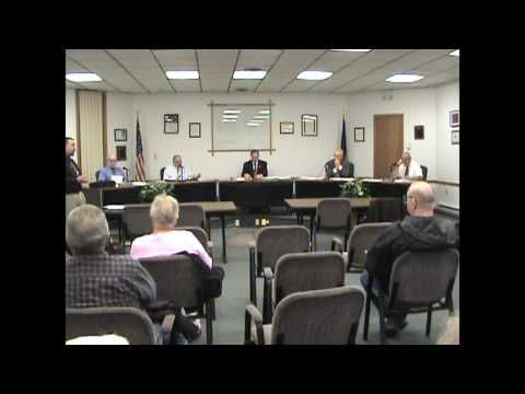 Rouses Point Village Board part one  4-17-17