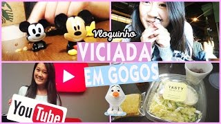 Youtube Space SP & Abrindo Gogos da Disney! ❤️ Vloguinho