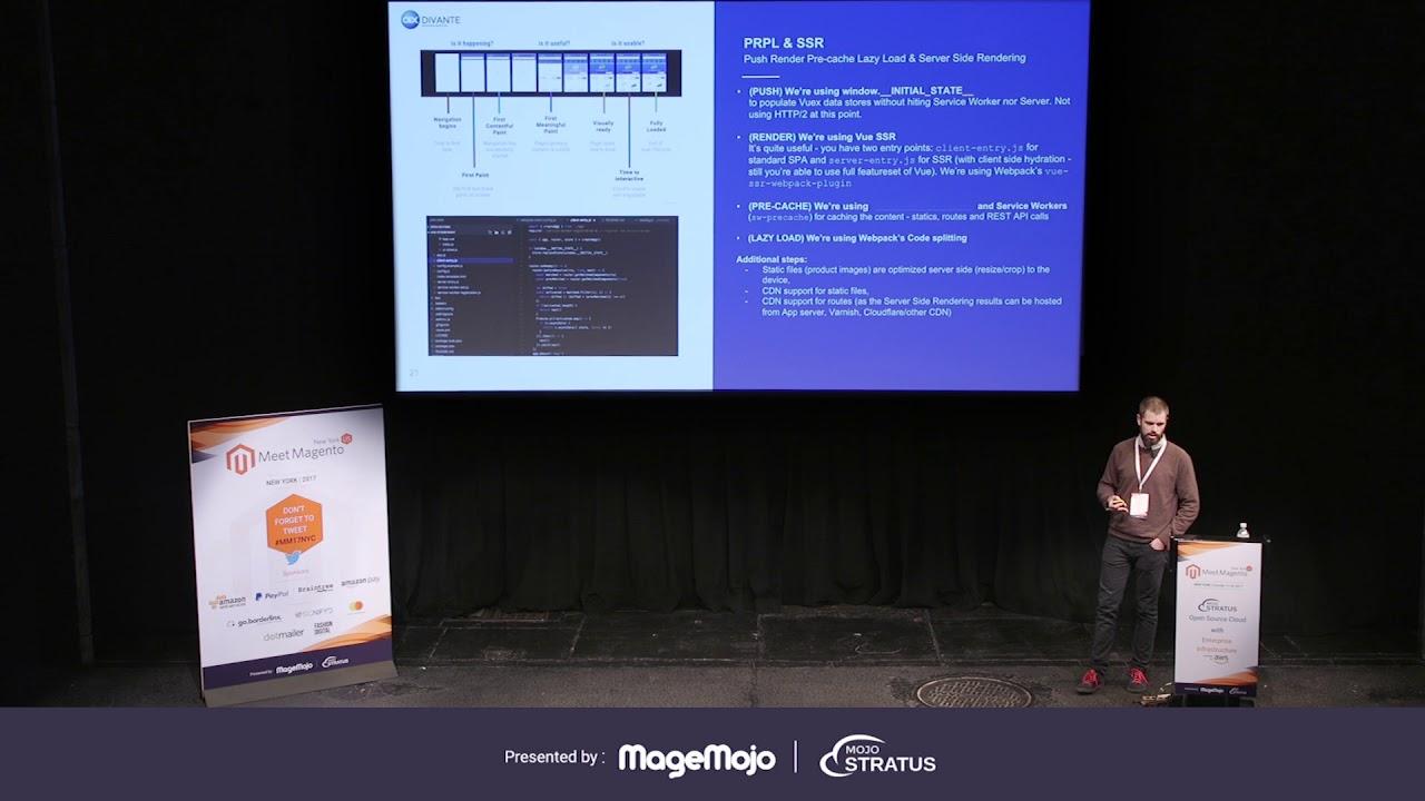 PWA for Magento - Vue Storefront - Open Source, Vue js progressive web app