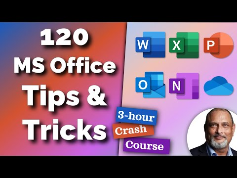 Efficiency Crash Course - 120 Office features you must know