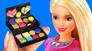 20 EASY DIY MINIATURES & CRAFTS 〜 Mini Nerf that Shoots, Makeup kit, Earrings and more