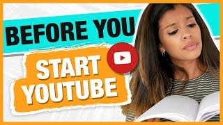 6 Things For New YouTube Channels - MUST DO Before Uploading a Video