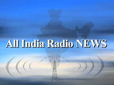 All India Radio News Bulletin