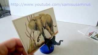 видео Подставки под визитки и косметику