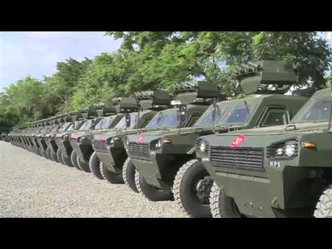 National Police Service receives armoured personnel carriers
