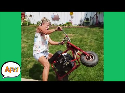 Talk About Moto MeMaw! 😅   Funnies and Fails   AFV 2020