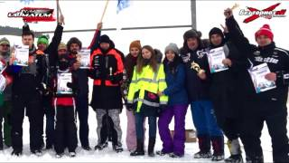 Ультиматум, открытие снегоходной трассы, Экстрим парк Альметьевск. Соревнования встреча клубов.