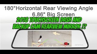 2 Best Dash Camera and Backup Cam DVR car mirror systems thumbnail