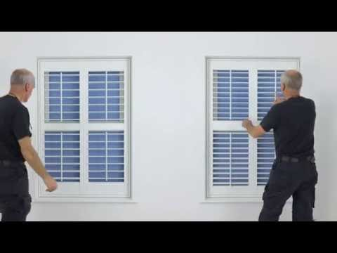 DIY plantation shutters - video guide explaining all the options