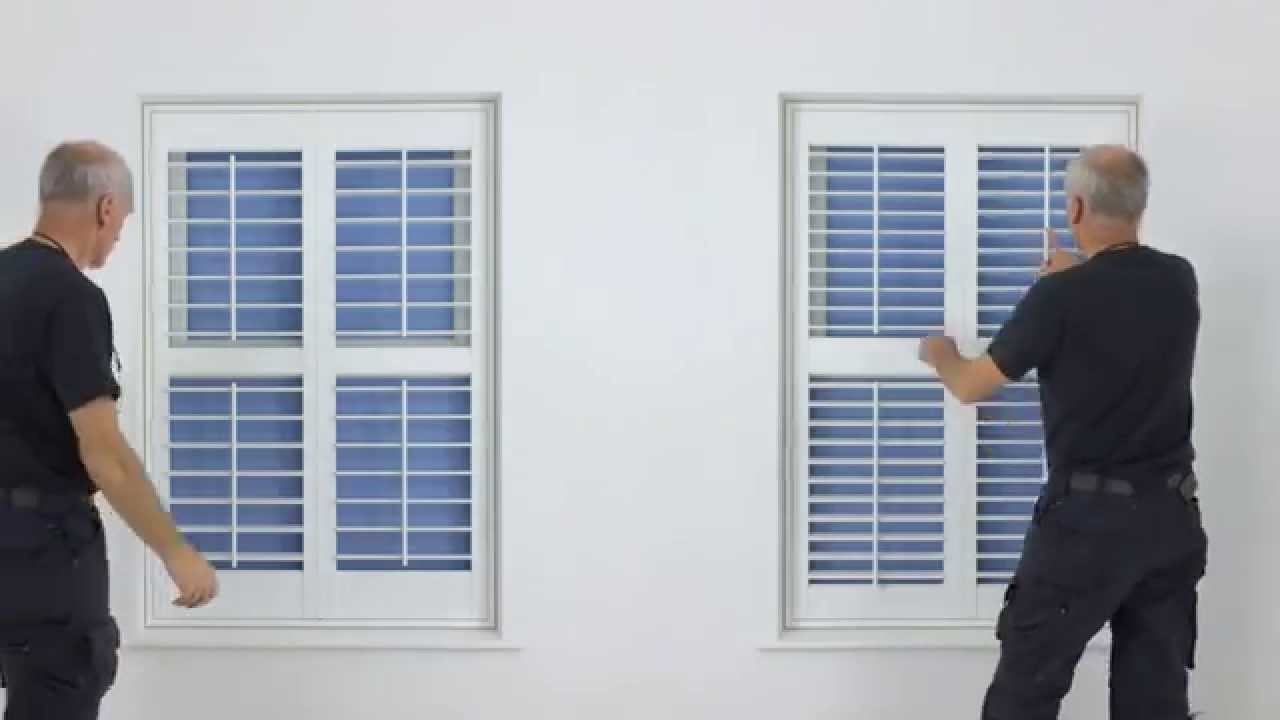 Diy Plantation Shutters Video Guide Explaining All The