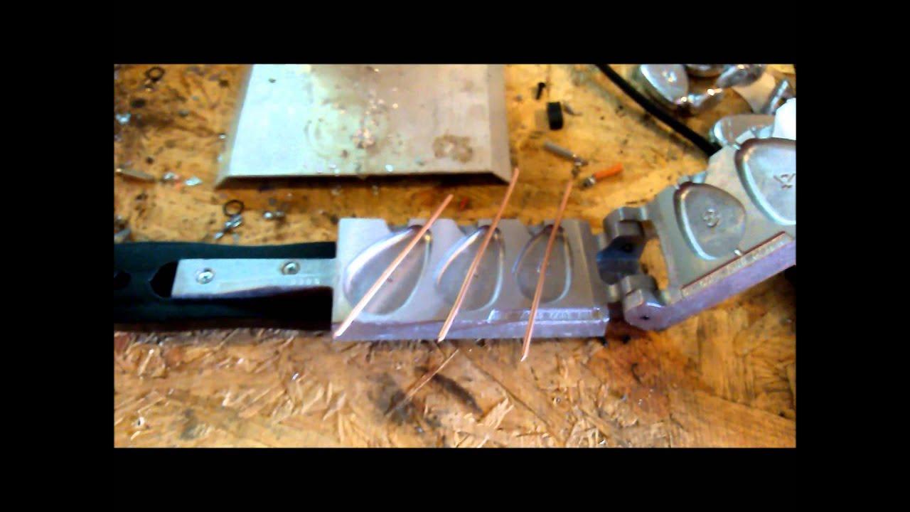 No-Roll Sinker Mold Core Alternative