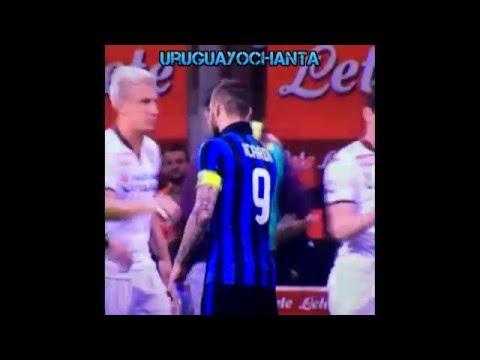 Maxi Lopez No Saluda A Mauro Icardi Y Se Toca Los Genitales | Wanda Nara | Inter v Torino 3.4.2016