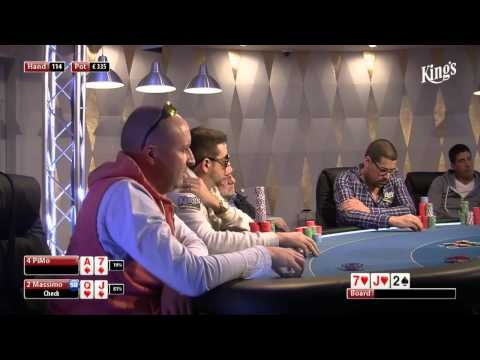 CASH KINGS E8 1/2 - DE - NLH 2/5 - Live cash game poker show
