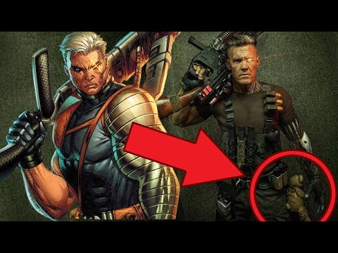 What Cable's Costume Tells Us About Deadpool 2