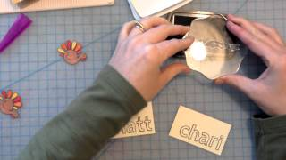 How To: Make Thanksgiving Place Cards