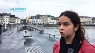 Cherbourg : la passerelle a un an
