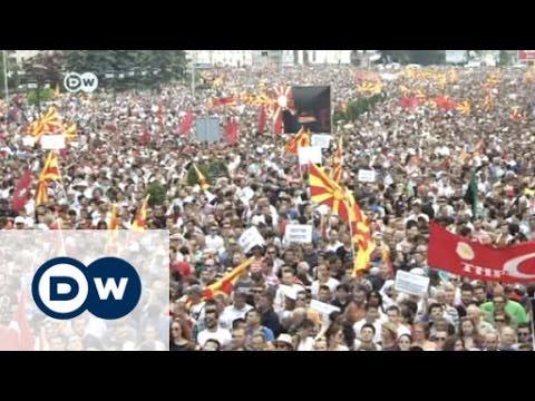 Macedonia deadlock as protests swamp Skopje | Journal