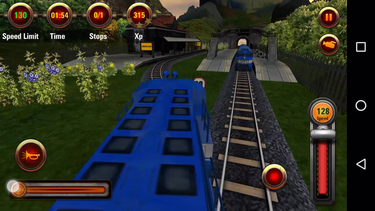 Train Racing Game 3D Multiplayer