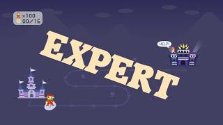 Super Mario Maker - 100 Mario Challenge (Expert)