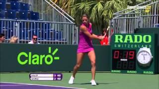 Camila GIORGI 24 great points 2015